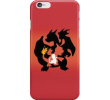 Charmander - Charmeleon - Charizard iPhone Case/Skin