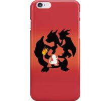 Charmander - Charmeleon - Charizard iPhone Case/Skin