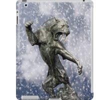 primitive times fighter iPad Case/Skin