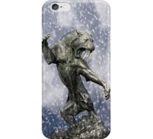 primitive times fighter iPhone Case/Skin