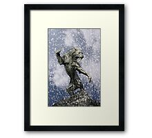primitive times fighter Framed Print
