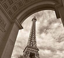 No. 7, La Tour Eiffel de Vegas by Benjamin Padgett