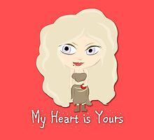 Game of Thrones Valentines: My Heart is Yours by Alice Edwards