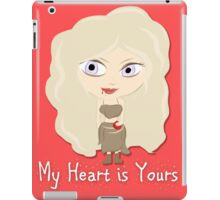 Game of Thrones Valentines: My Heart is Yours iPad Case/Skin