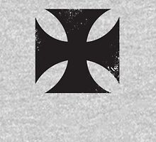 Iron cross in black. Hoodie
