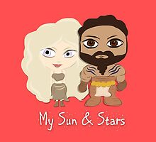 Game of Thrones Valentines: My Sun and Stars by Alice Edwards