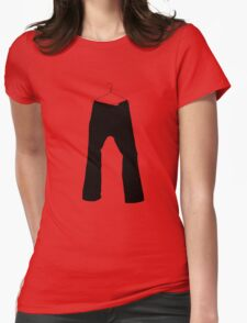 Hung Womens Fitted T-Shirt