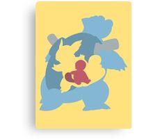 Squirtle - Wartortle - Blastoise Canvas Print