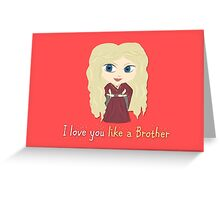 Game of Thrones Valentines: Cersei's Insest Greeting Card