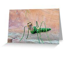 Freaky Bug Greeting Card