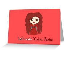 Game of Thrones Valentines: Melisandre Greeting Card
