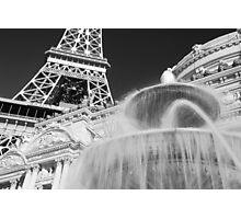 No. 20, La Tour Eiffel de Vegas Photographic Print