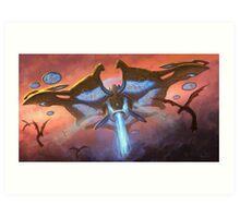 Starcat - Ultimate Mothership [UltraHD] Art Print