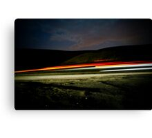 Racing Home Canvas Print