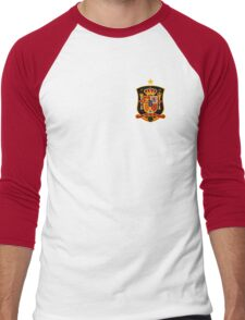 Spain. Espana. Men's Baseball ¾ T-Shirt