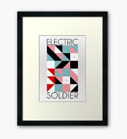 Electric Soldier: Porygon Framed Print
