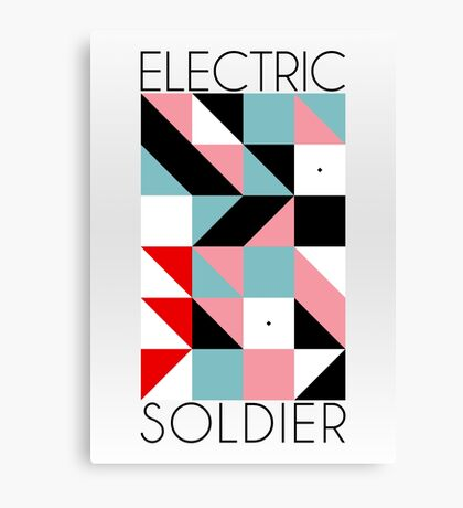 Electric Soldier: Porygon Canvas Print