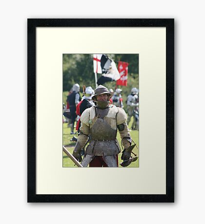 It's Been A Hard Day's Fight... Framed Print