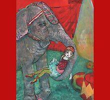 Harriet And Circus Girl by Maria Pace-Wynters