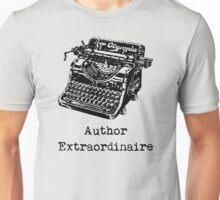 Author Extraordinaire Unisex T-Shirt