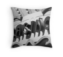 La Casino No. 2 Throw Pillow