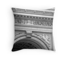 Triomphe No. 2 Throw Pillow