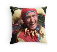 Nobody's Fool Throw Pillow