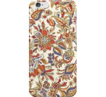 Vintage Abstract Floral Pattern iPhone Case/Skin