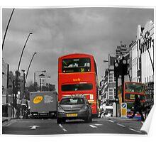 A Quiet Drive Through London. Poster