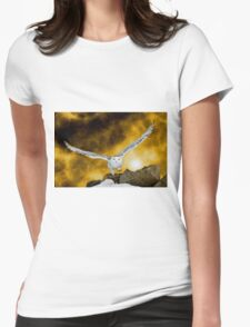 Descendant from heaven Womens Fitted T-Shirt