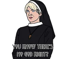 Sister Mary Eunice by Cabbages