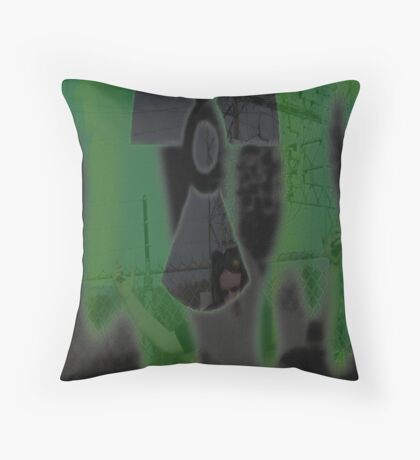 wasteful thinking Throw Pillow