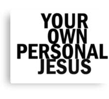Personal Jesus Canvas Print