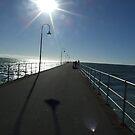 Glenelg Beach Jetty by Sarah Mosbey
