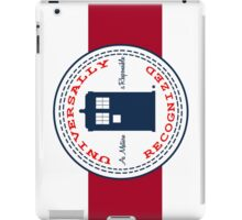 Doctor Who - Converse Logo with Quote iPad Case/Skin