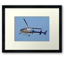 CHP helo Framed Print