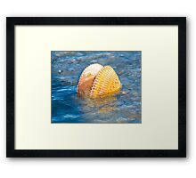 The Ebb and Flow © Framed Print