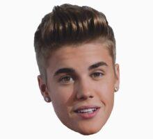 Justin Bieber head by Stefan Teunissen