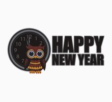 Happy New Year - Owl Kids Clothes