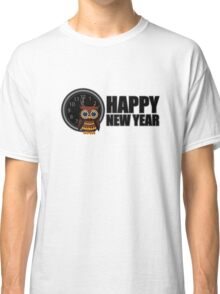 Happy New Year - Owl Classic T-Shirt