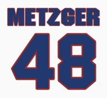 National baseball player Butch Metzger jersey 48 by imsport