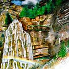 Bridal Veil Falls by mark rehburg