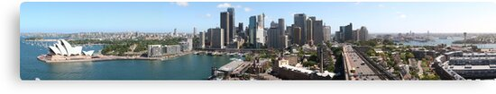 Sydney City View by Roger Barnes