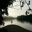 Amazon Sillouette  by Alex Evans