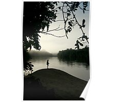 Amazon Sillouette  Poster