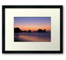 Camel Rock Framed Print