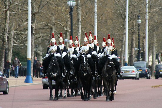 Household Cavalry by ScarlettRose