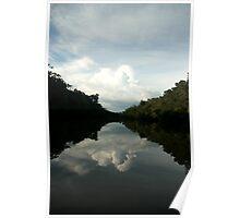 Amazon Reflections Poster