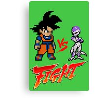 Goku Vs Frieza 8MB Canvas Print