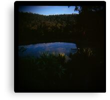 Holga madness......little clouds at dawn in daniland Canvas Print